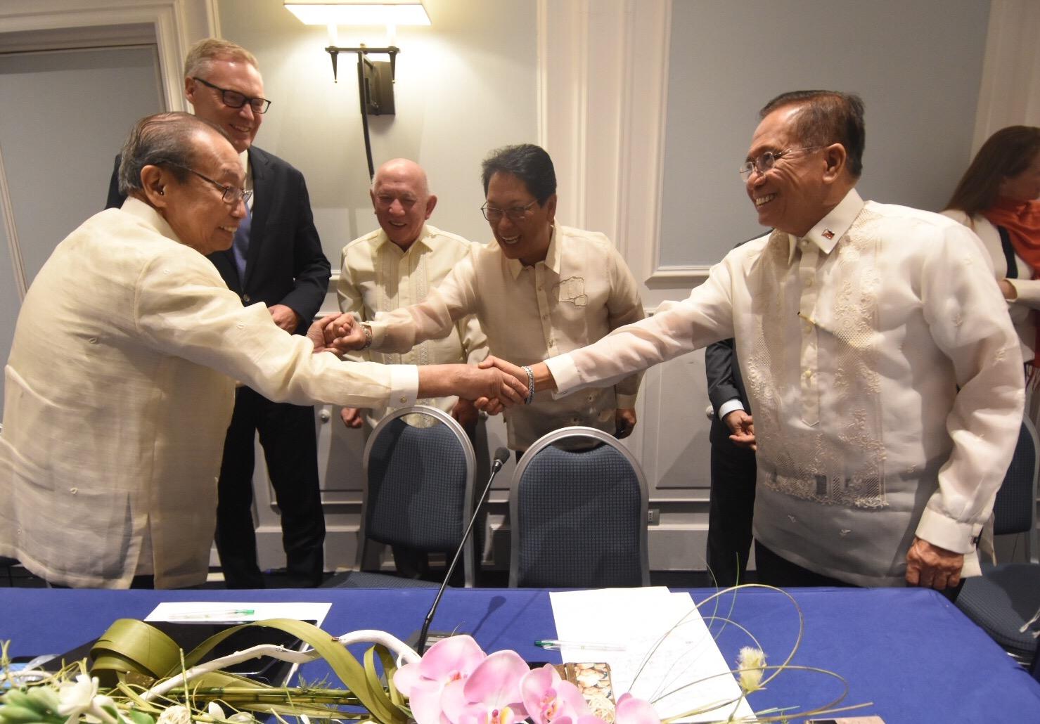 PH, NDF make significant headway in talks despite clashes
