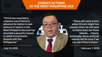 Harry Roque on China