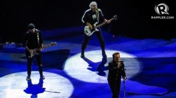 U2 Manila concert