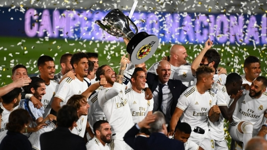 Real Madrid Bags th La Liga Title With Game To Spare