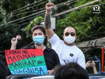 ABS-CBN franchise renewal protest