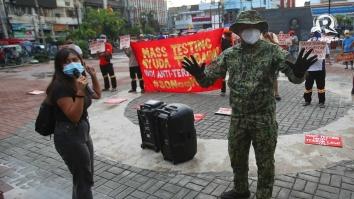 SONA protest Tondo