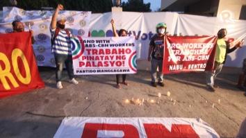 ABS-CBN Cebu protest