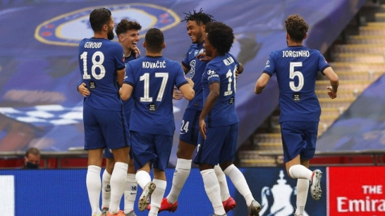 Watch Chelsea Arsenal Set For Rematch In 2020 Fa Cup Final