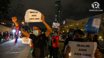 ABS CBN Noise Barrage