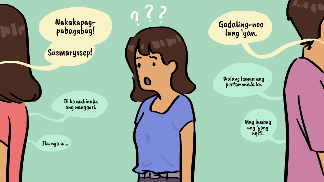 Conversation girl first tagalog a with Best Ways