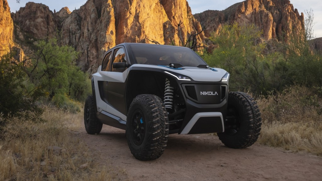 Is zero-emission truck maker Nikola the new Tesla, or just hot air?