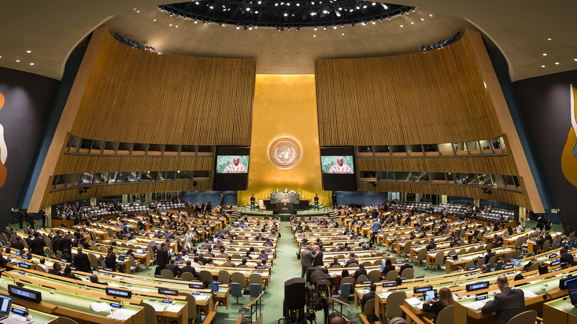 Un General Assembly Goes Virtual  A Former Ambassador On