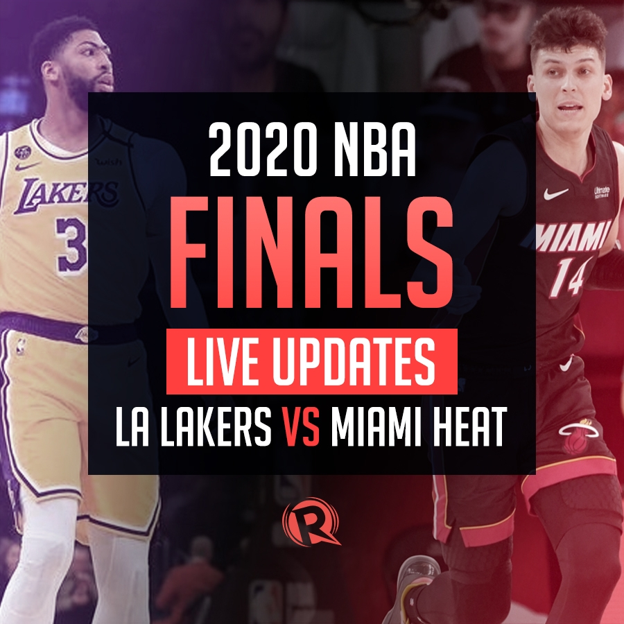 Highlights Lakers Vs Heat Nba Finals 2020 Game 2