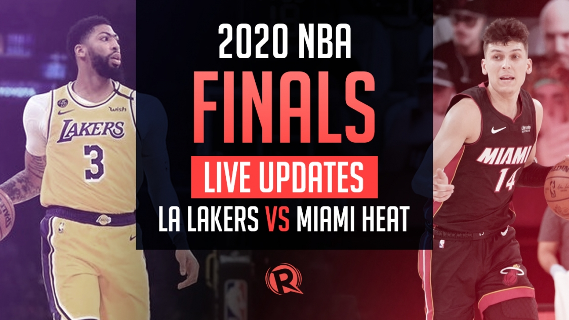 Highlights Lakers Vs Heat Nba Finals 2020 Game 3