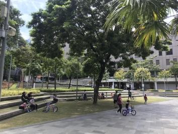 BGC park during quarantine