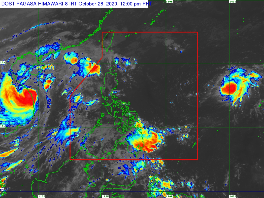 Tropical depression outside PAR might hit Philippines as a typhoon