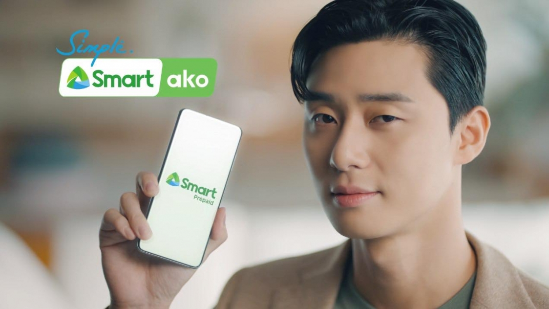 Korean star Park Seo-joon is PH telco Smart's newest endorser