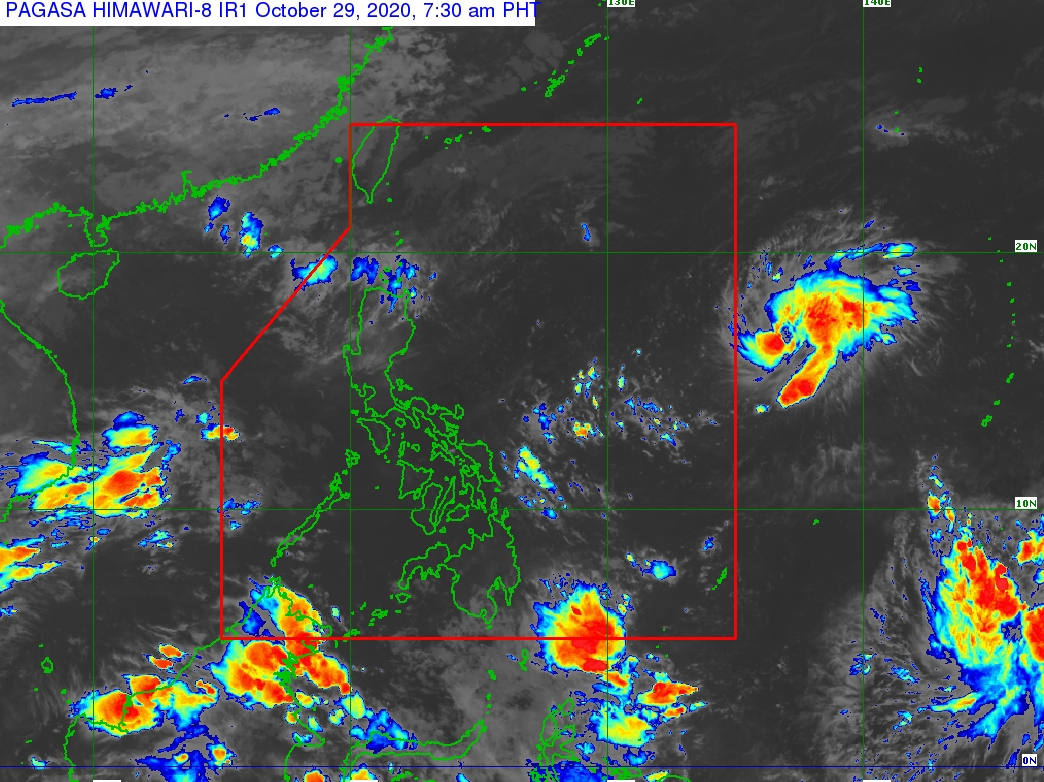 Tropical depression becomes tropical storm ahead of PAR entry; new LPA outside