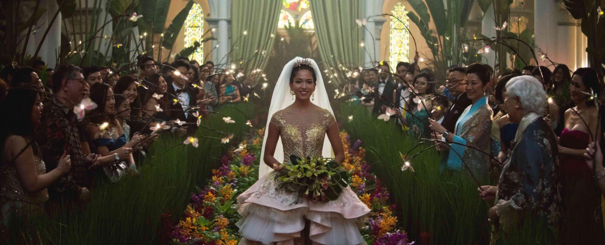 Crazy Rich Asians - Wedding scene