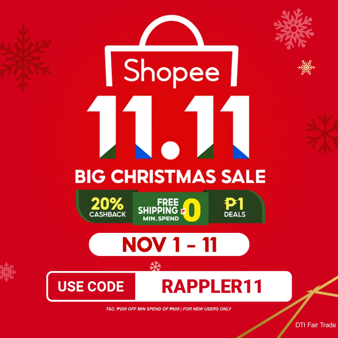 Christmas In Our Carts Making The Most Of Shopee S 11 11 Big Christmas Sale