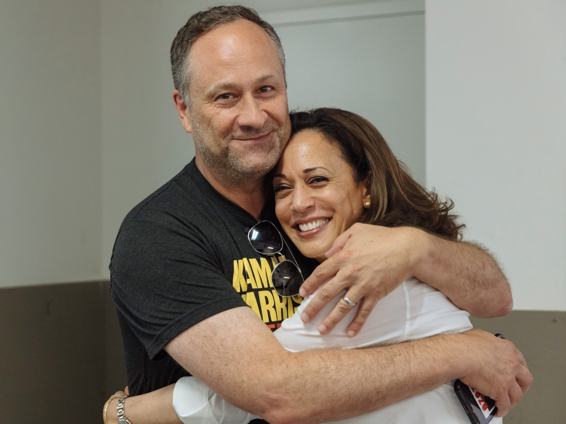 America Gets Its First Second Gentleman Kamala Harris Husband Doug Emhoff