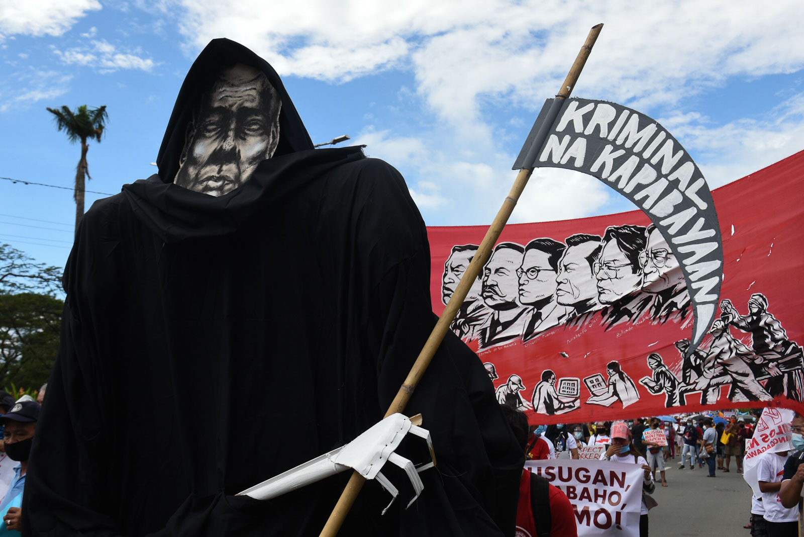 Bonifacio Day Protest