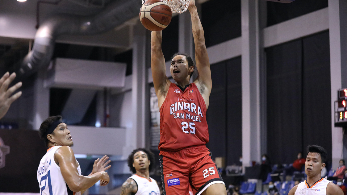 Ginebra Crushes Meralco To Draw First Blood