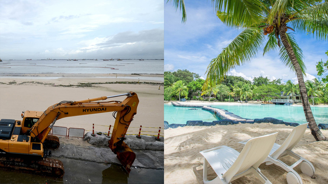 What do Manila Bay and Plantation Bay have in common?