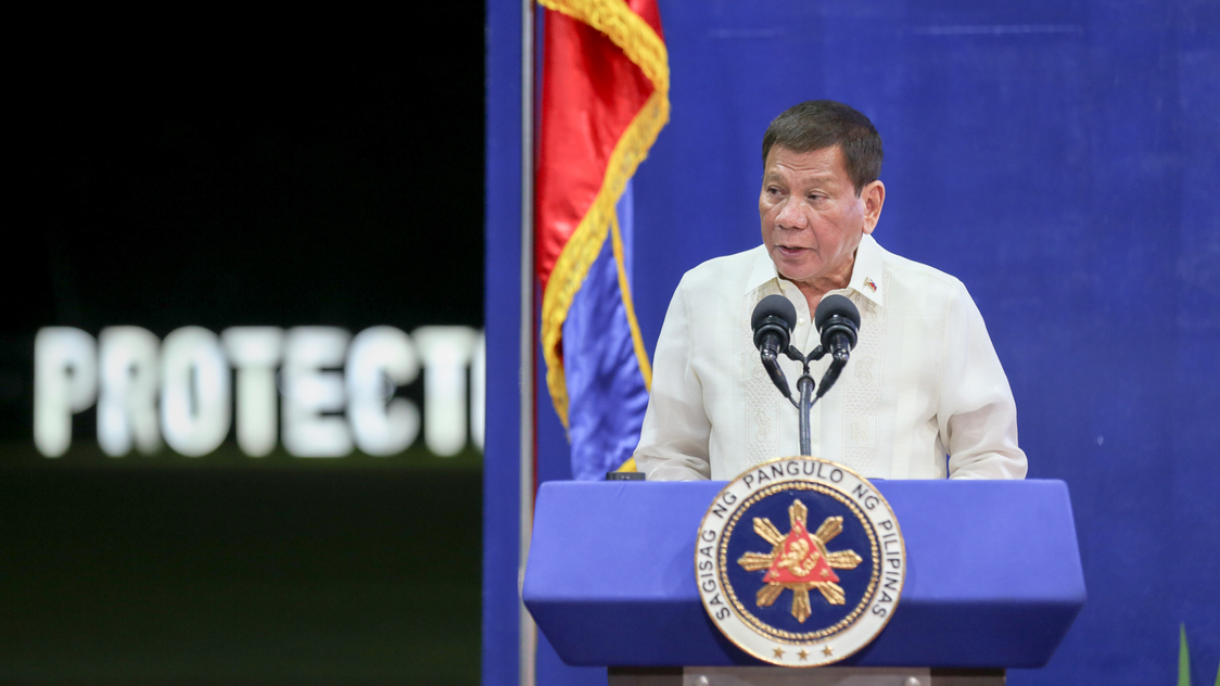Duterte says he 'cannot afford to be brave in the mouth against China' - Rappler