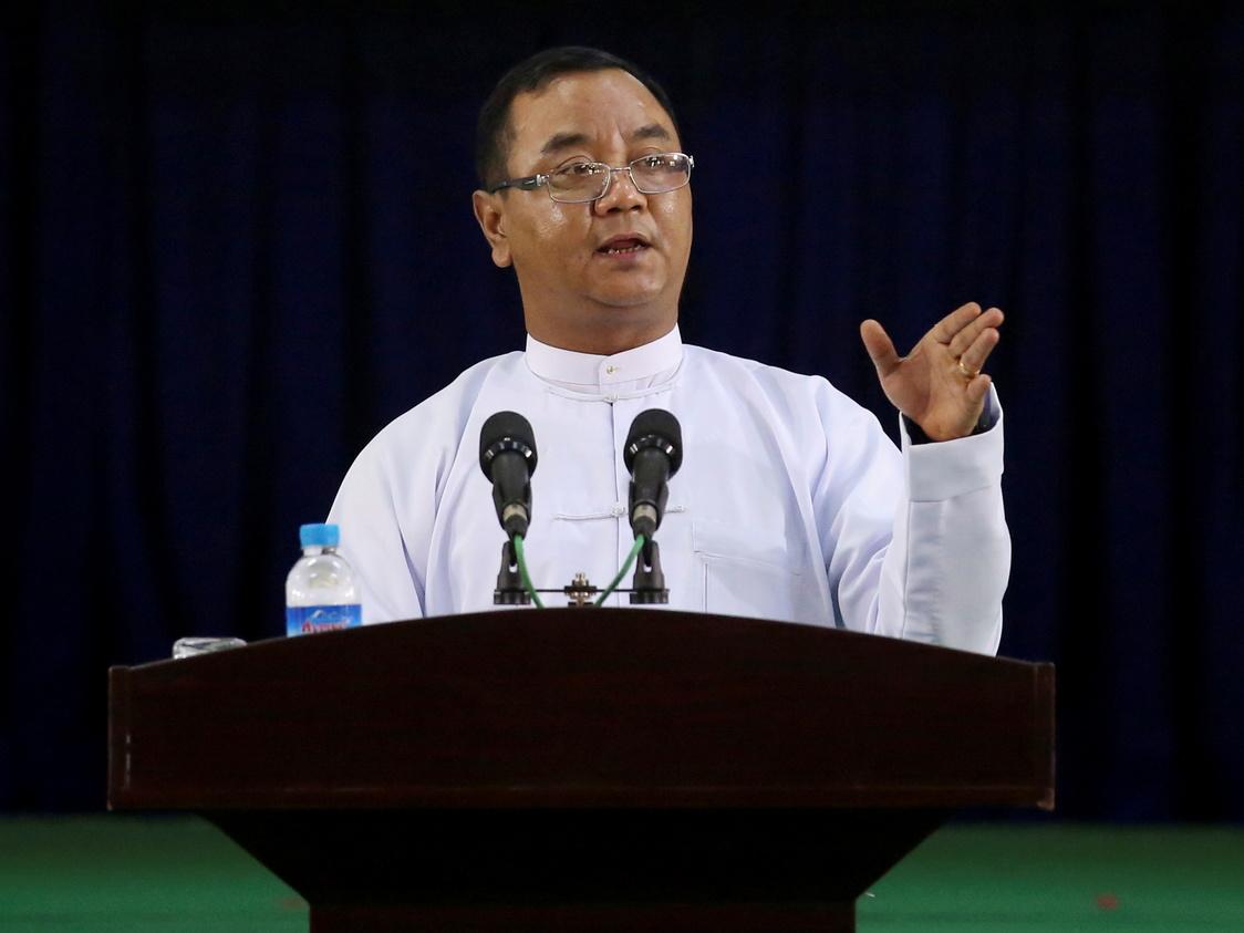 Myanmar junta blames protesters as EU, US impose sanctions