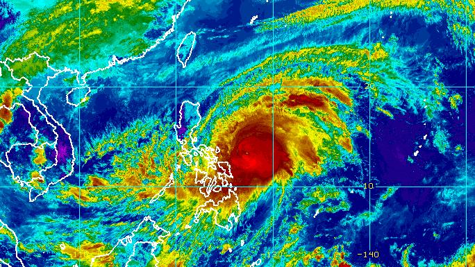 Rain from Typhoon Bising hits Eastern Visayas, Bicol - Rappler