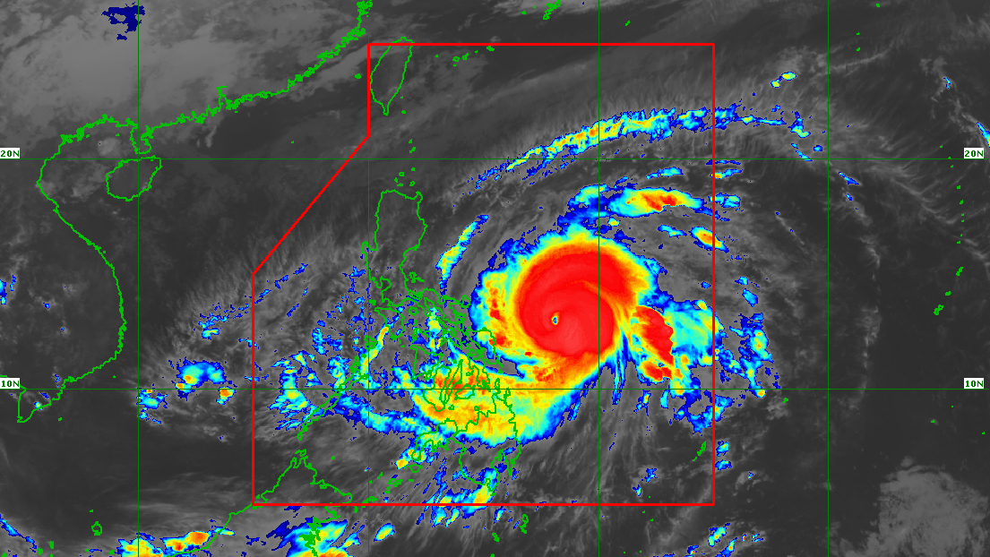 Typhoon Bising slightly slows down east of Northern Samar - Rappler