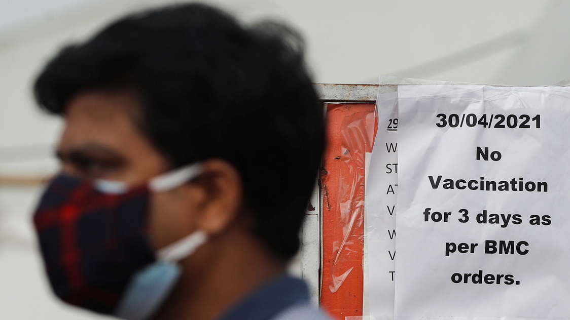 Indian states run out of COVID-19 vaccines, nationwide inoculation delayed - Rappler