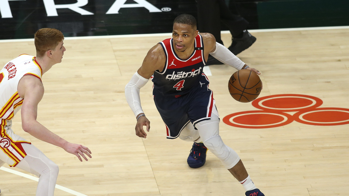 Russell Westbrook's record triple-double not enough as Hawks top Wizards - Rappler