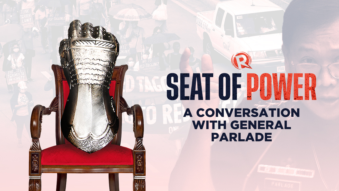 [PODCAST] Seat of Power: A conversation with General Parlade - Rappler
