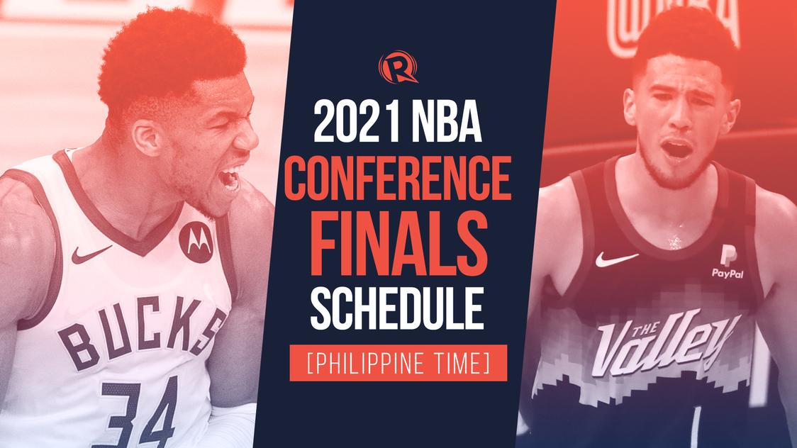 Schedule 2021 Nba Playoffs Conference Finals Philippine Time