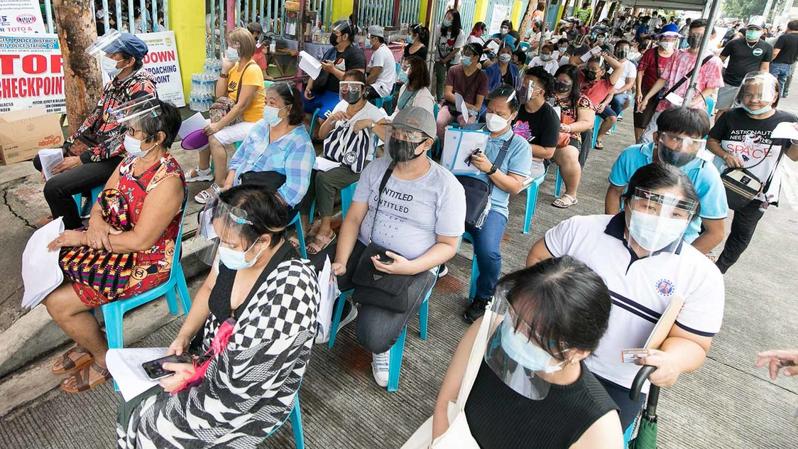 Why some cities in Metro Manila trail others in COVID-19 vaccinations