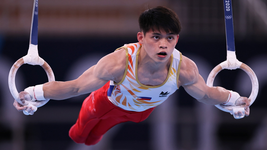 Carlos Yulo to vie for Tokyo Olympics vault gold medal