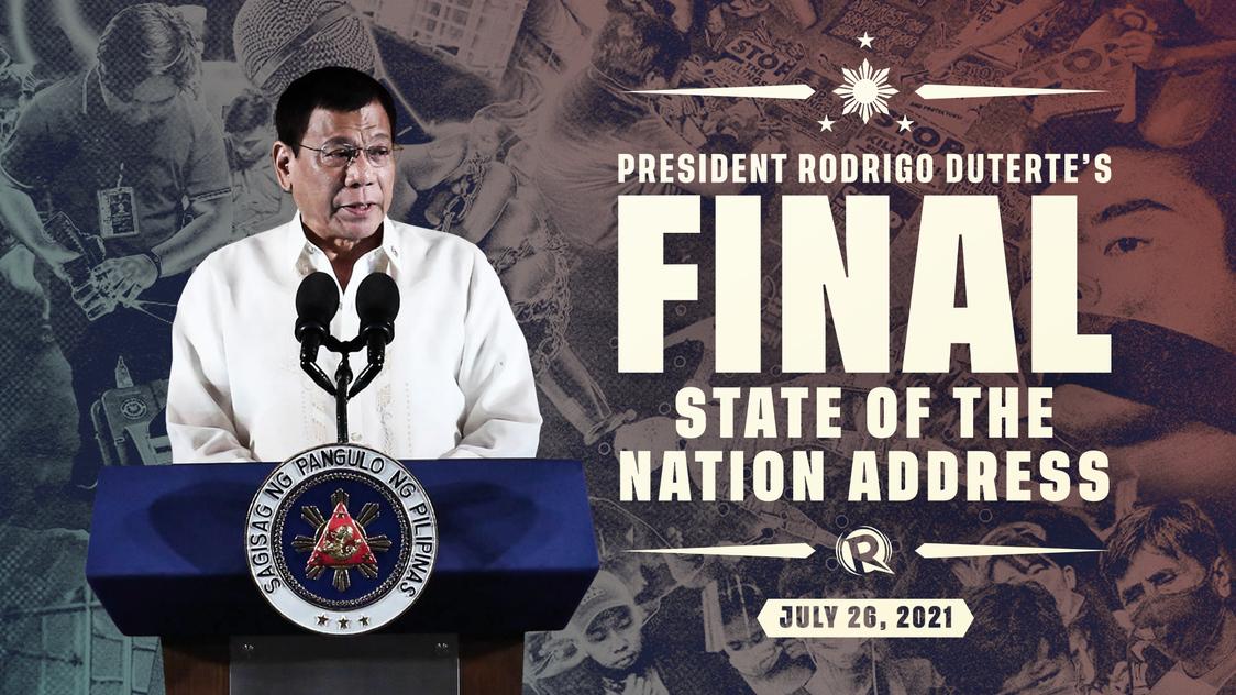 LIVE UPDATES: President Duterte's final State of the Nation Address | SONA 2021 - Rappler