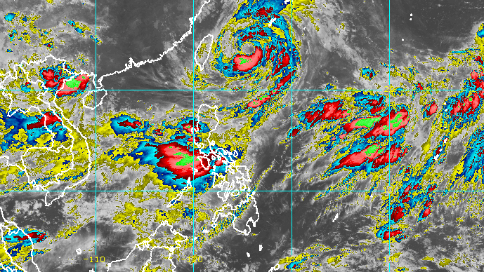 No end to rain from enhanced monsoon yet as Typhoon Fabian remains slow - Rappler