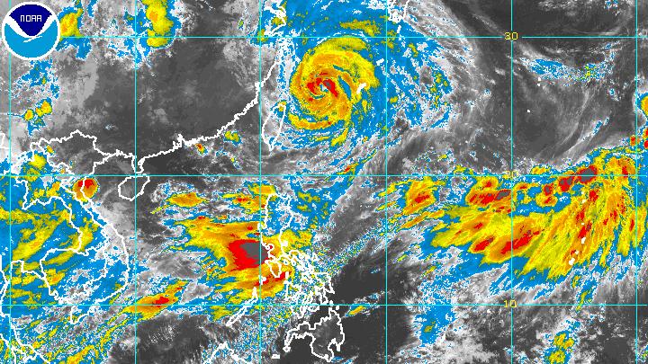 Typhoon Fabian outside PAR but still enhancing southwest monsoon - Rappler