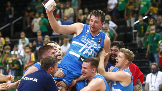 Mavs star Luka Doncic leads Slovenia to first Olympic basketball berth