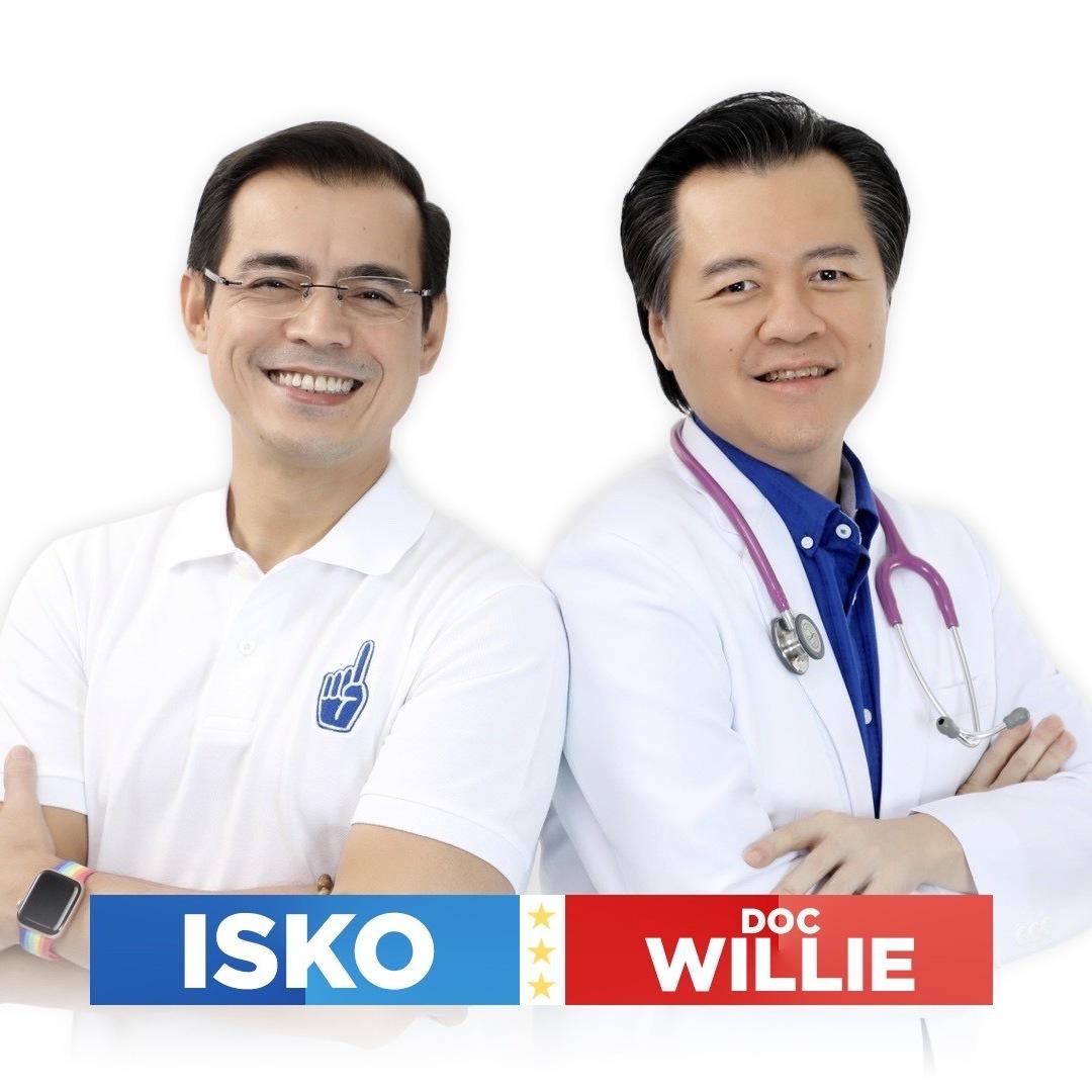 Who is Doc Willie Ong, Isko Moreno's VP?