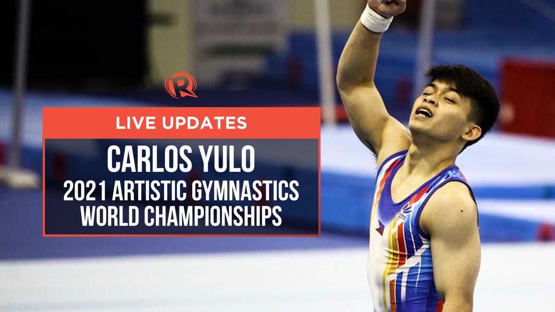 LIVE UPDATES: Carlos Yulo in 2021 Artistic Gymnastics World Championships