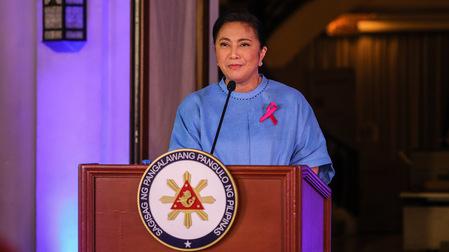 Filipinas: Vicepresidenta Leni Robredo confirmó candidatura para los comicios presidenciales