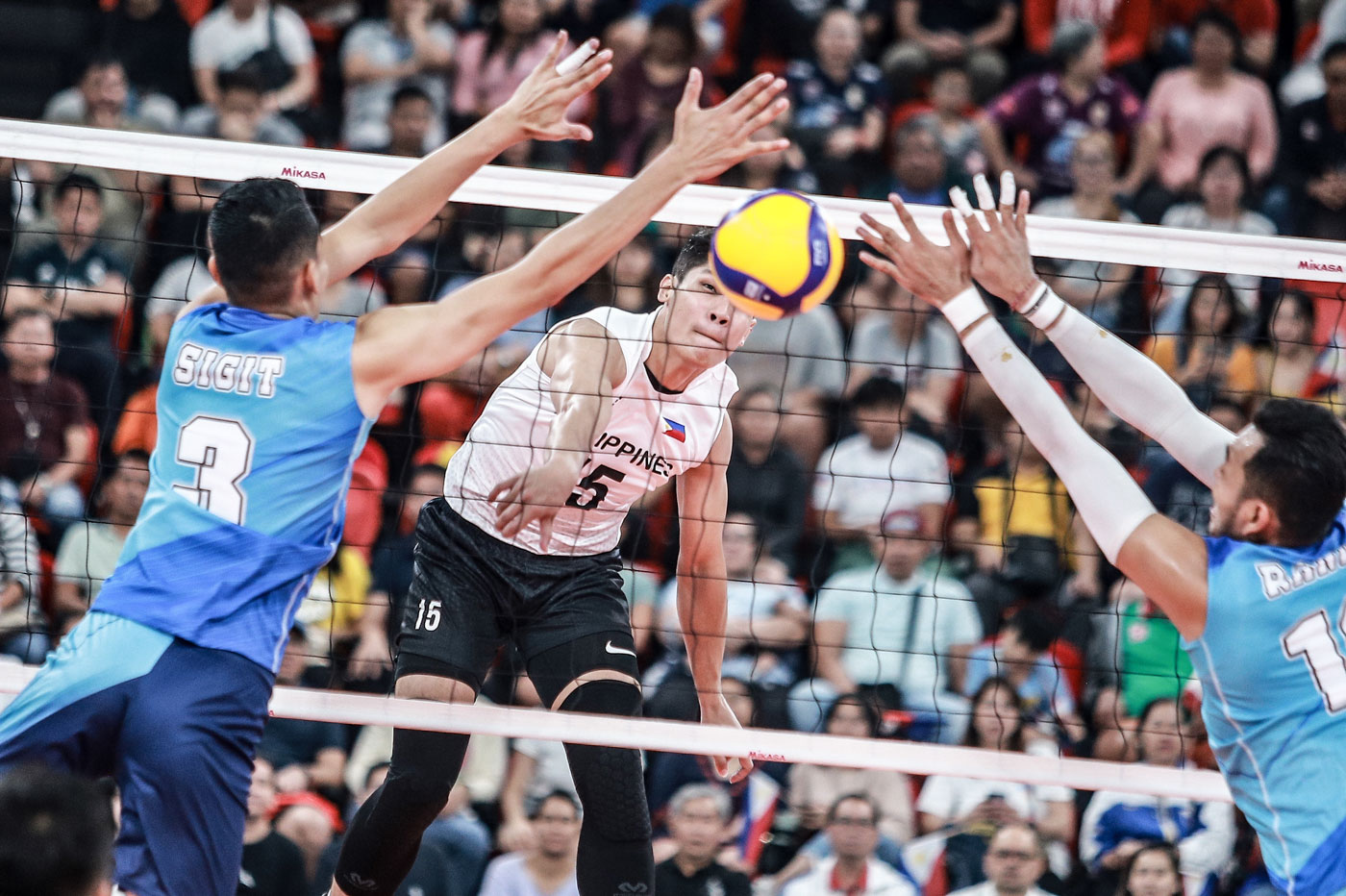 Indonesia Breaks Ph S Hearts In Men S Volleyball Sweep