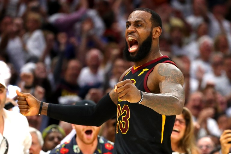 In Numbers Lebron James And The Nba Finals