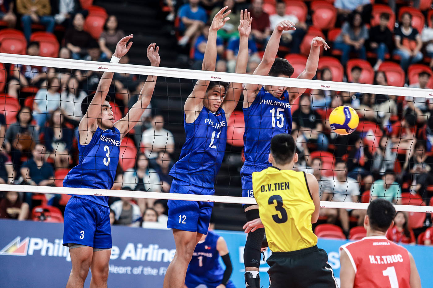 Ph Men S Volleyball Blasts Vietnam For Sea Games Semis Berth
