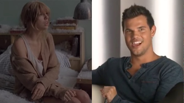 Watch Taylor Lautner Admits Taylor Swift S Back To December Is About Him