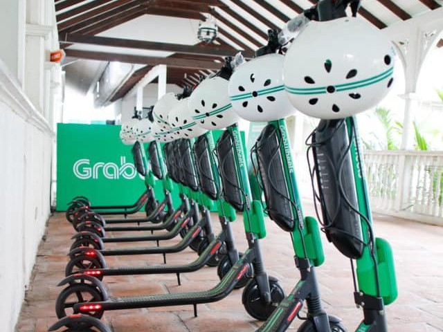 Grab provides free e-scooter service to frontliners