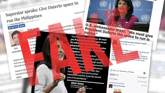 Manila Times columnist falls for fake news