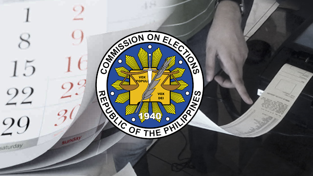 Calendar of activities, list of bans for 2016 Philippine elections