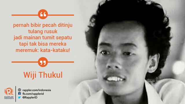 48 Kata Kata Wiji Thukul Jagokata