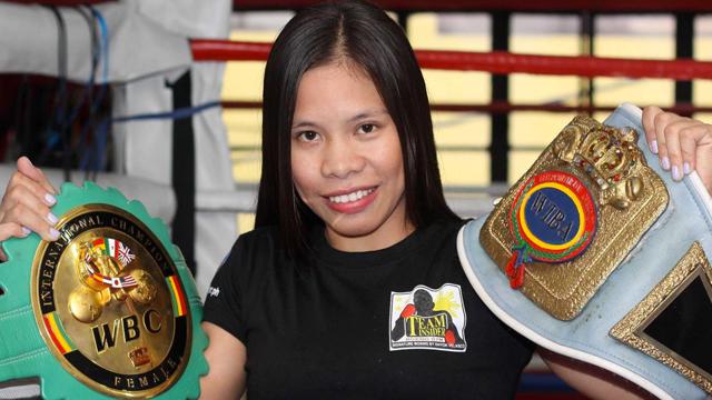 Gretchen Abaniel, Filipina boxing wonder woman, fights on